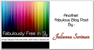 Julianna Name Card