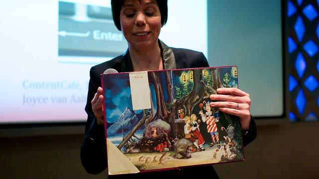 Joyce van Aalten classificeerde als kind al haar boeken