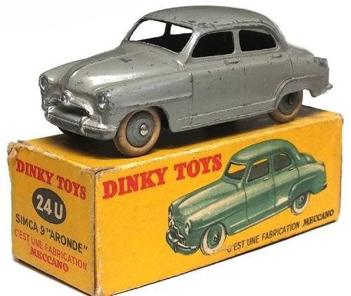 09 Dinky F Simca Aronde 1°tipo