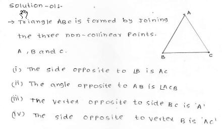 RD SHARMA class_6 solutions  12.Triangles  Ex_12.1 Q 1