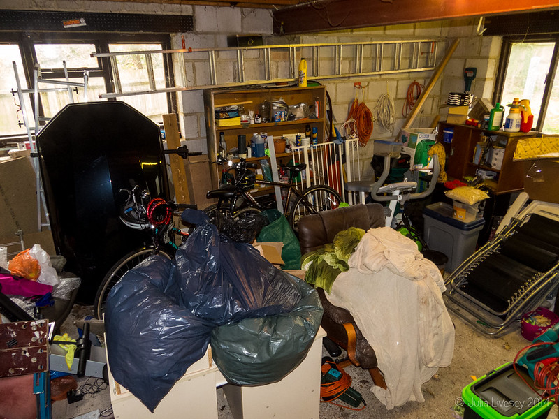 Time to tidy the garage