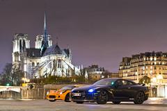 Notre-Dame de Paris - Lotus Exige & Nissan GT-R35 Photoshoot