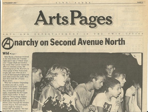 "09/07/83 City Pages ""The Wild Ones"" (3/8)"