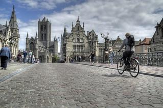 Cycling Belgium Cobbles, Ghent