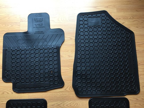 Fs Ca Bay Area Venza Oem Floor Cargo Mats Retactable Rear
