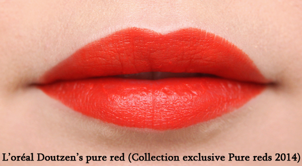 Doutzen's pure red