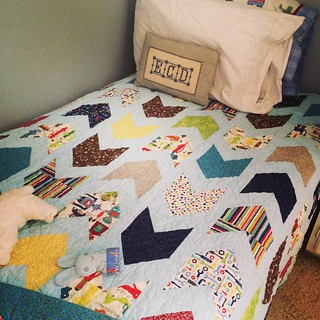 Cluck Cluck Sew's Pow Wow Quilt--finally and completely finished!