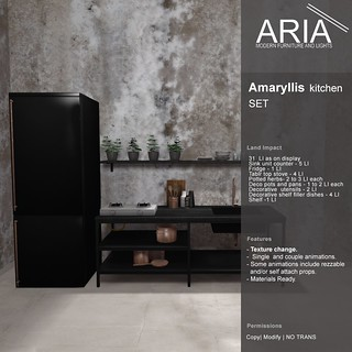 [ARIA] Amaryllis Kitchen for FaMESHed!