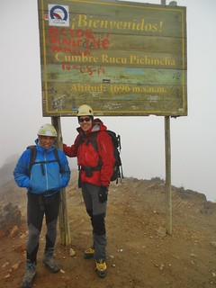Rafael and Tilden on Rucu Pichincha