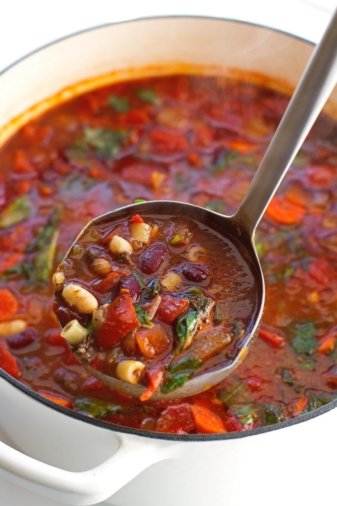 Pasta E Fagioli Soup Olive Garden Copycat Recipe Little Spice Jar