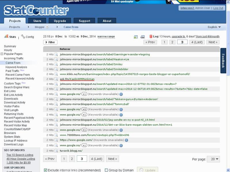 ask fm statcounter