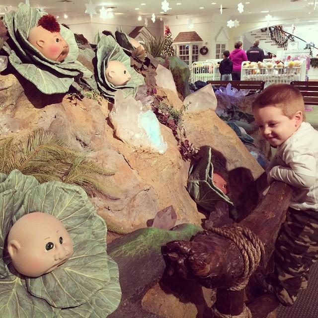 Babies. #cabbagepatch #babyland #toddler #toddlerlife
