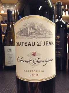 Chateau St. Jean California Cabernet Sauvignon 2010