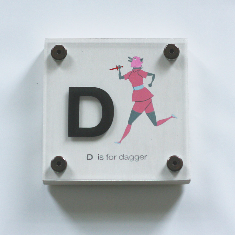 D IS FOR DAGGER