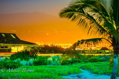 sunset landscape hawaii pentax kona hdr k3 pentaxk3 smcpentaxda50mmf18