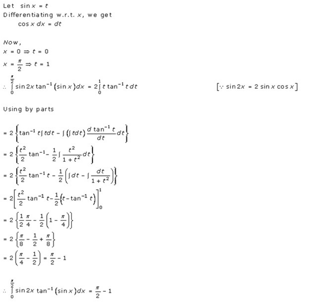 RD Sharma Class 12 Solutions Chapter 20 Definite Integrals Ex 20.2 Q24