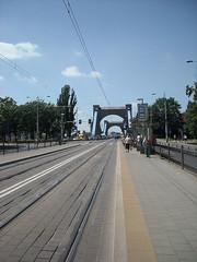 Bus / tram stop in Wrocław