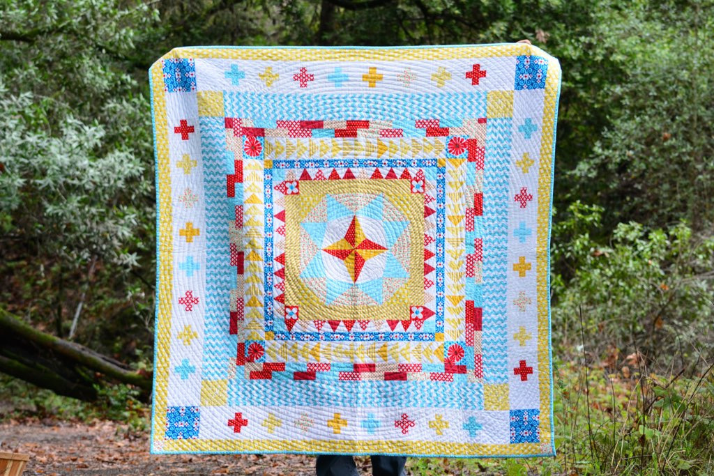 Christmas Quilt 2014: Marcelle Medallion