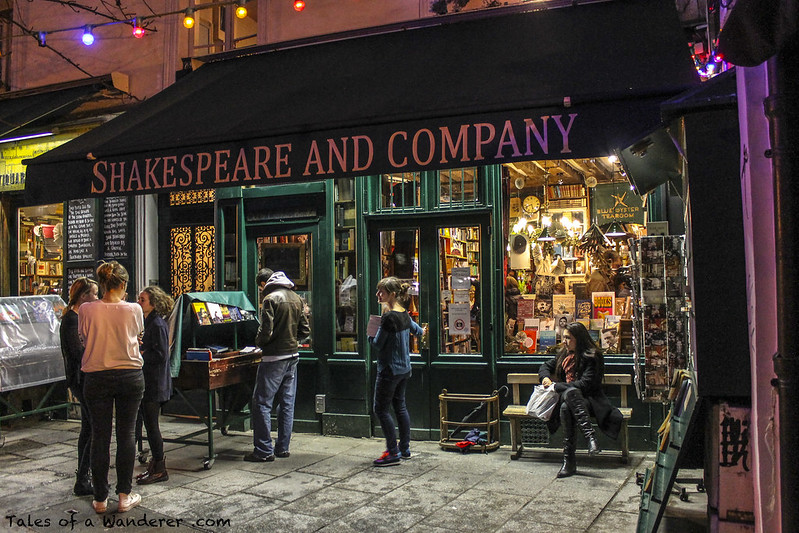 PARIS - Shakespeare and Company