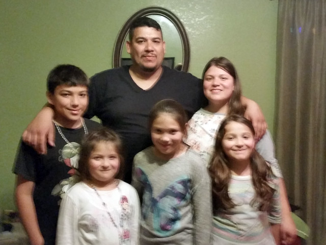 My cousin Alex and family
