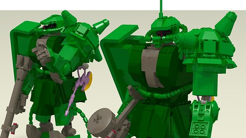 MS-06F Zaku II Mass Production Type