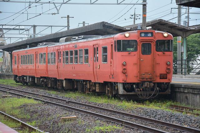 キハ47 100+1507、幡生駅