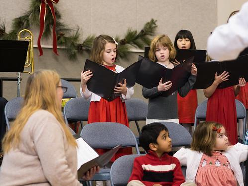 Christmas Eve singing