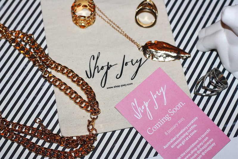 Flatlay featuring jewellery by Shop Joey