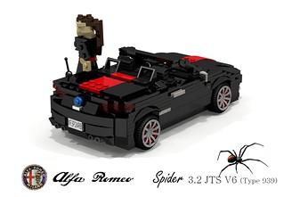 Alfa Romeo Typ-939 Spider (Redback)