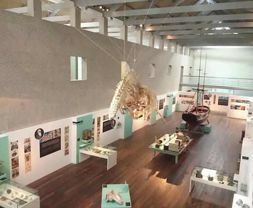Interior Museo do Mar de Vigo