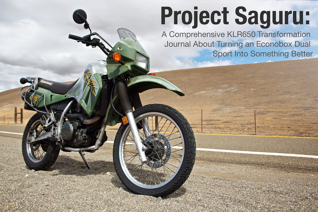 Project Saguru A  prehensive Klr650 Transformation on klr 650 engine swap