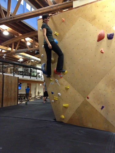 Me on a Climbing Wall