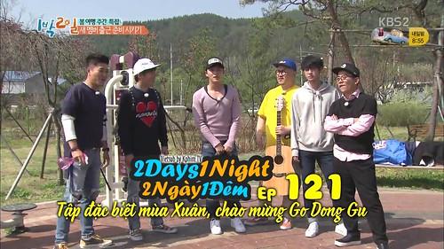 [Vietsub] 2 Days 1 Night Season 3 Tập 121