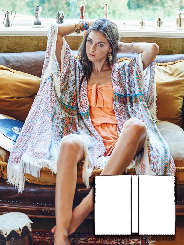 women's kimono sewing pattern 127-062016-B