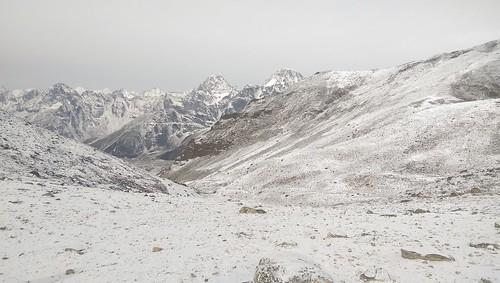Snowy Himalayas Nepal