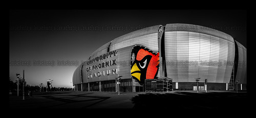 University of Phoenix Stadium Panorama (for client).