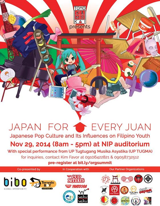 Japan for Every Juan: Japan Pop Culture and Its Influences on Filipino Youth