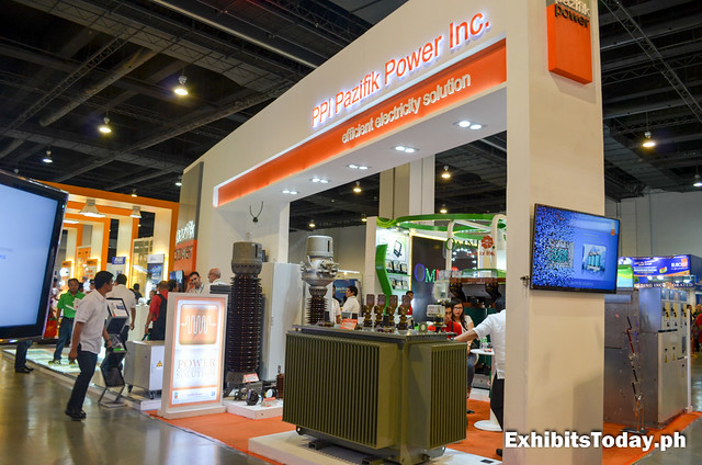 Side of PPI Pazifik Power Inc. Trade Show Booth