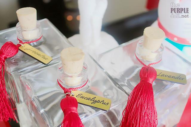 Aromatherapy Oils at Nuat Thai Banawe