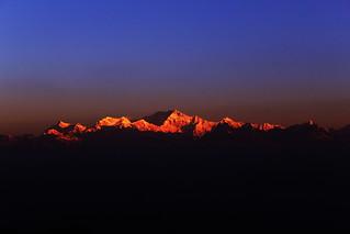 Mount Kanchenjunga Form Tiger Hill  Darjeeling