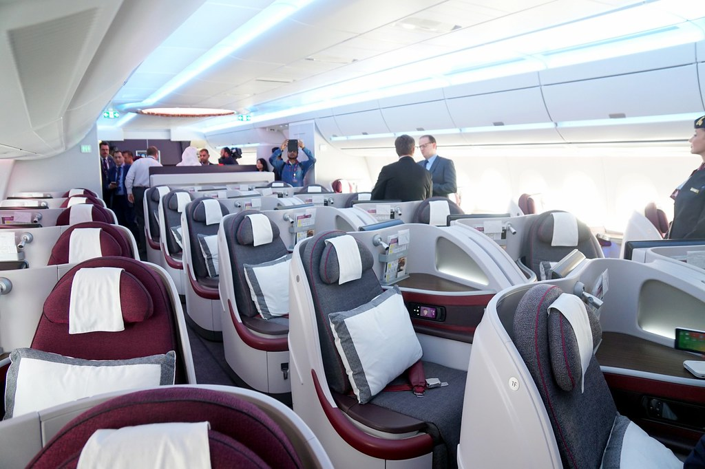 Qatar Airways  Launch of the Airbus A350XWB -014