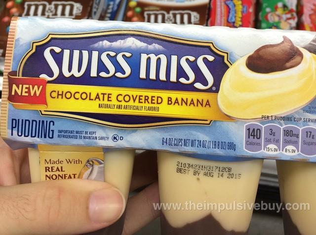 Swiss Miss Chocolate Covered Banana Pudding