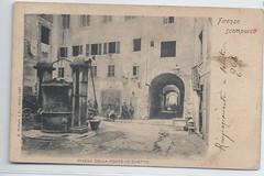 11676  Florence Italy Jewish Ghetto