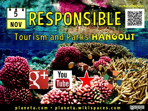 November 5: Responsible Tourism and Parks Hangout