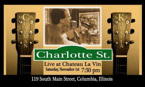 Charlotte St 11-1-14
