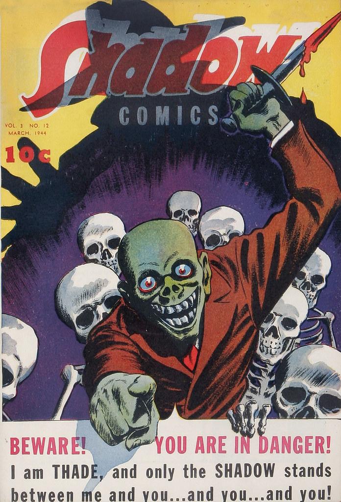 Shadow Comics V3#12 Mile High pedigree (Street & Smith, 1944)