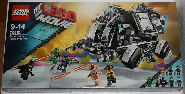 Lego Police DropshipLego Alkinoos Movie Secret 70815Super rBy KTclF1J3