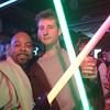 Mace Windu & Lebowski Kenobi, Hero shot. #Halloween #Georgetown @robominister @scifipartyline #jedi #starwars