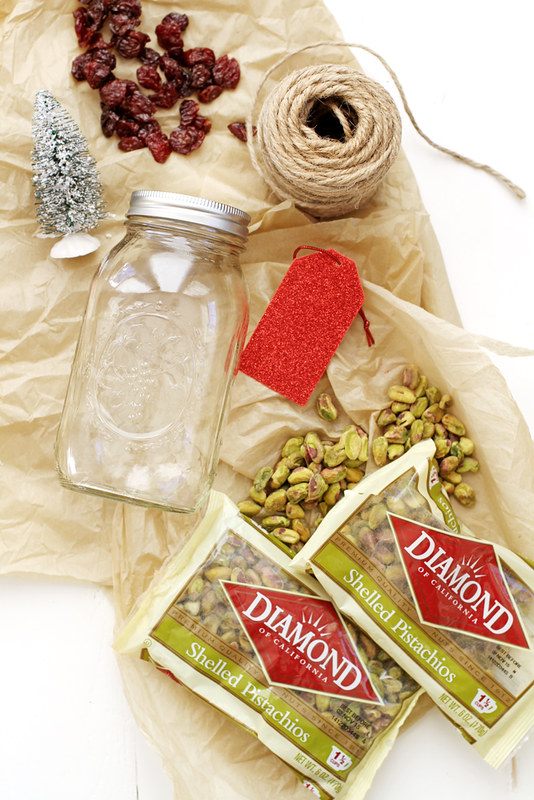 Cherry, Coconut and Pistachio Biscotti Gift Jars | girlversusdough.com @stephmwise