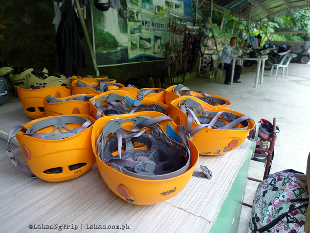 Zipline Registration Area. NPC Nature's Park. Maria Cristina Falls in Iligan City, Philippines